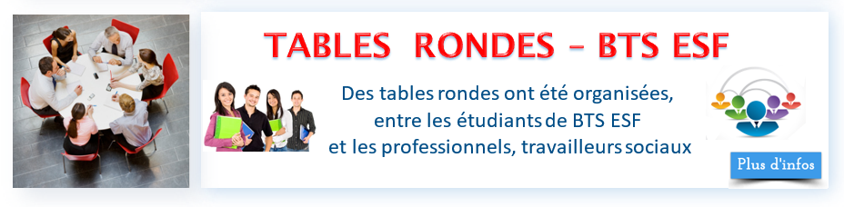 Tables rondes bandeau